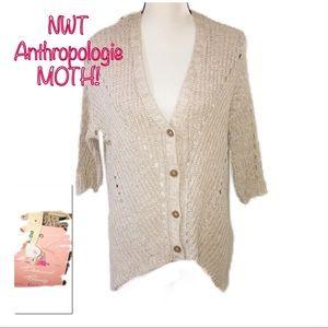 • ANTHROPOLOGIE | NWT | Button Down Cardigan •